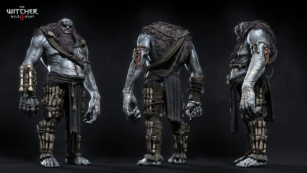 The frost giant is a example of good monster design and characterization. You really have to see him in motion to get the full effect.