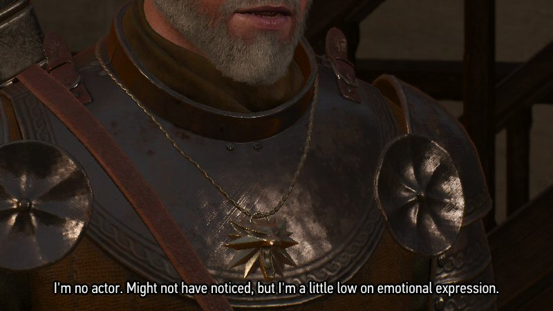 I appreciate the self-awareness, videogame, but can we get this over with and get back to Witcher-ing?