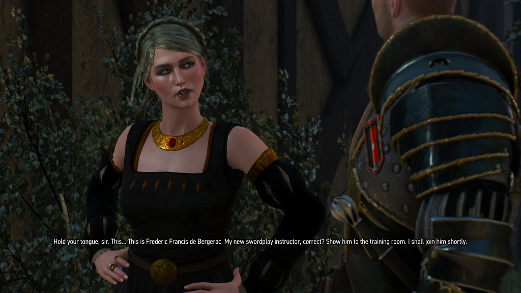 Other games drop references to recent pop culture. The Witcher 3 drops references to Cyrano de Bergerac.
