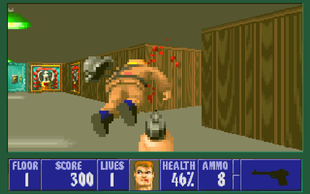 I remember when people thought this game was EXTREMELY VIOLENT. Ha ha.