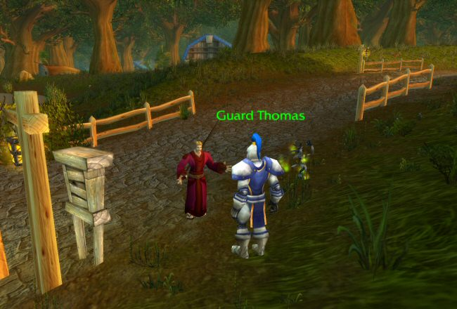 These people are so stupid you`ll wish you rolled Horde. Of course, once you`re doing THOSE quests...
