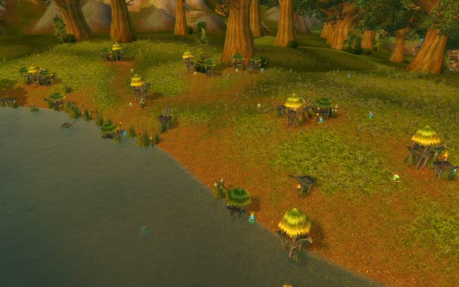 In Elwynn Forest, I'll bet there are more Murloc huts than human houses.