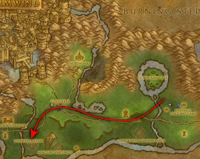 Technically I could ride the griffin from the logging camp to Stormwind and then walk the rest of the way. In fact, maybe I DID when I wrote this. But riding on griffins is a little too awesome for sad-sack Norman.