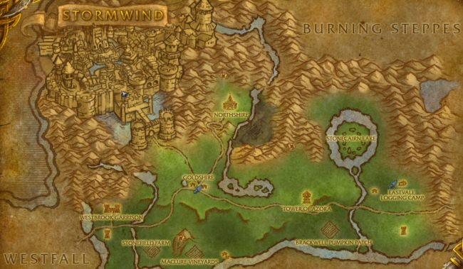 The region surrounding Goldshire Asylum for the Criminally Over-Leveled.