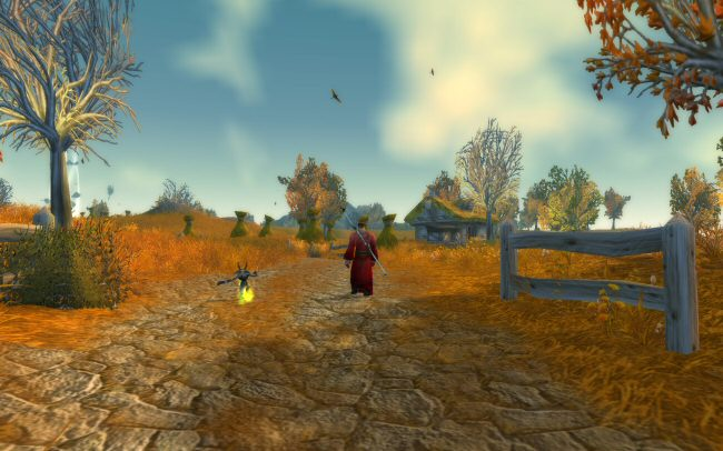 Aside: I really love Westfall. Elwynn forest starts to feel a bit smothering after a few hours.