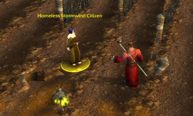 Can you be both homeless AND a citizen of Stormwind, while at the same time living far from Stormwind?