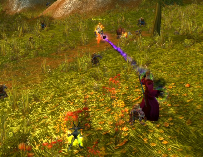 The shadow bolt power really does feel ineffectual. Low-level warlocks have terrible DPS. But you`ve got a pet to tank for you, so it`s safer than all other character classes aside from Hunter.