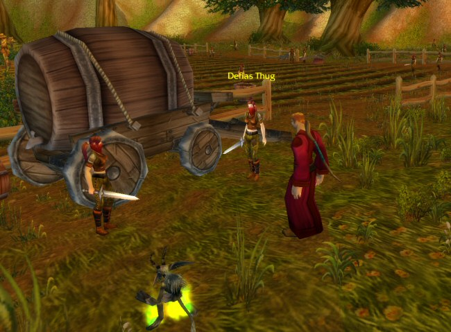 Defias THUG. I love how judgmental these enemy types are.