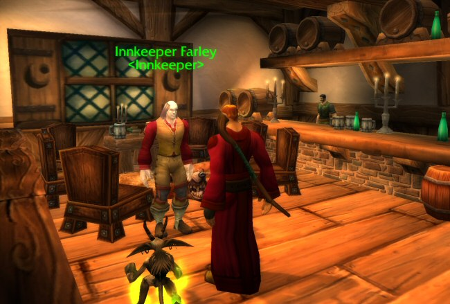The guy named Inkeeper Farley is... an inkeeper? Who would have guessed?