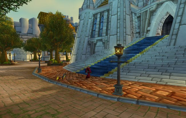 Just imagine how much worse this would look if you gave it a HD texture pack. This is a world designed to LOOK GOOD at its initial tech level.