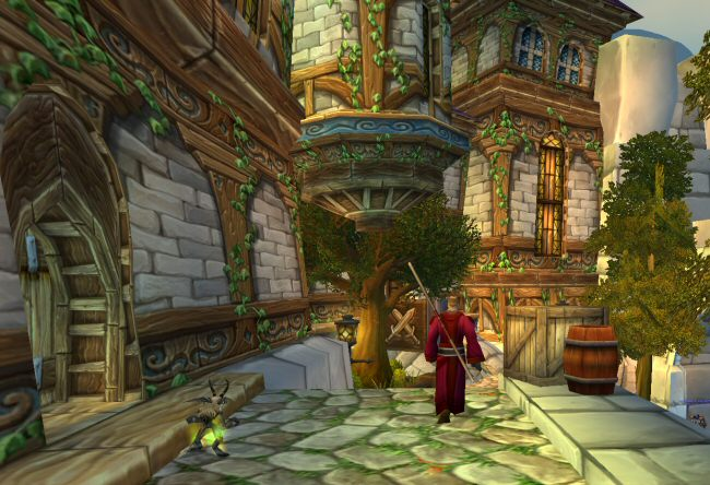 Now that the game has gotten rid of class trainers, a lot of sections of the city are pretty much useless. I don`t think there`s ever a reason to come to the Mage Quarter other than the endpoint for the occasional delivery quest.