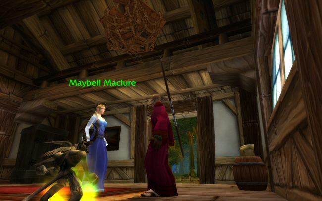 Maybell`s dialog here is lifted right from the game.