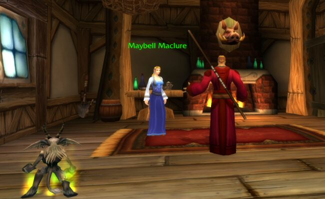 Dayum Maybell, you`ve got the exact same physique as granny. What`s your secret?