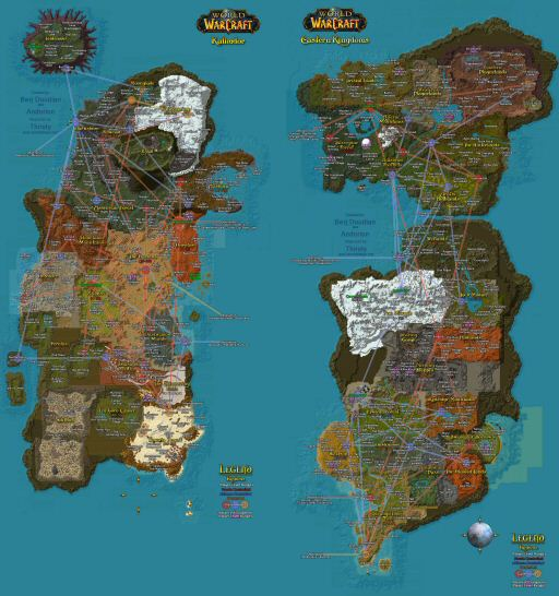 """Want to see more? <a href=""""http://mapwow.com/"""">Check out the Google Earth style WoW map</a>. Even the tiny parts of the game are freaking <strong>huge</strong>."""