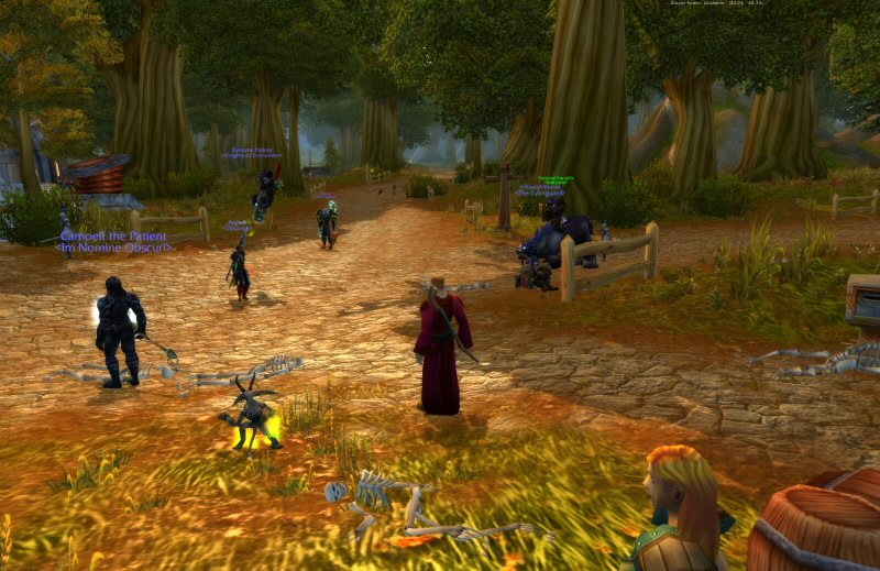Goldshire represents a worst-worst case scenario: The worst distribution of the worst sort of players.
