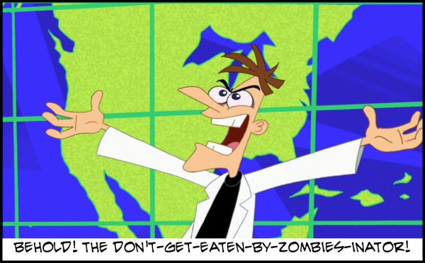 CURSE YOU PERRY THE ZOMBIFIED PLATYPUS!