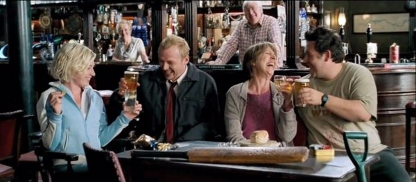 Shaun of the Dead - Best zombie movie ever.