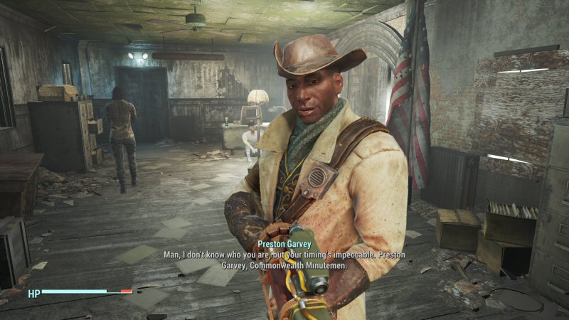 Preston Garvey makes me want to send a resume to Bethesda. He`s such a MASSIVE missed opportunity that he drives me mad.