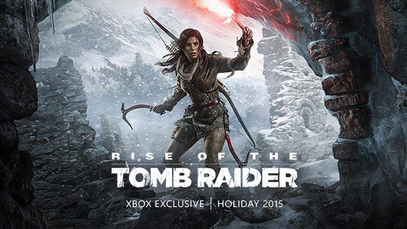 See, you're calling it 'rise' of the Tomb Raider, but I think the franchise is headed the other way.