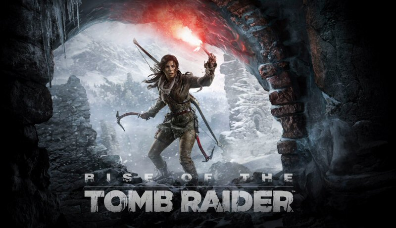 Holding pattern of the Tomb Raider.