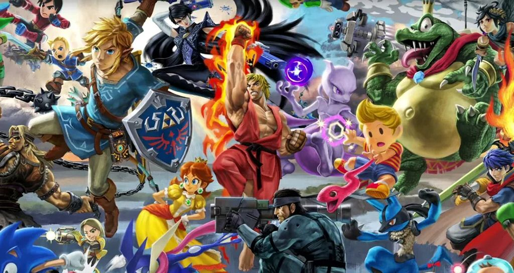 I don't actually enjoy playing Super Smash Bros, but I LOVE the sense of fun behind this multi-publisher, multi-franchise, multi-genre crossover. It's like the Olympics for videogame publishers. Every few years everyone gets together and pretends to be nice to each other for a couple of weeks.