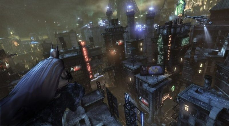 Some people like the size of Arkham Asylum better than Arkham City, but I`m fine with either one as long as I can fly around once in a while.