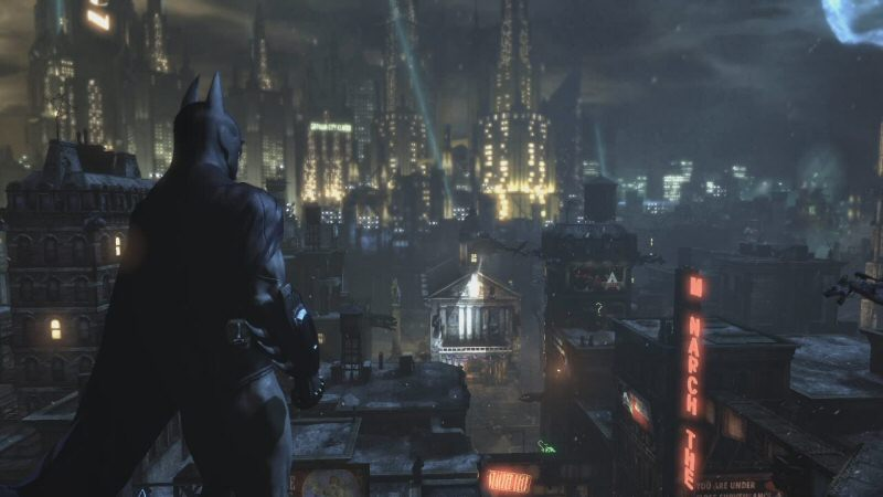 The world of Arkham City FEELS big, but unlike Arkham Origins and Arkham Knight, it doesn`t feel like the points of interest have been diluted for the sake of ramping up the number of square meters of gamespace.