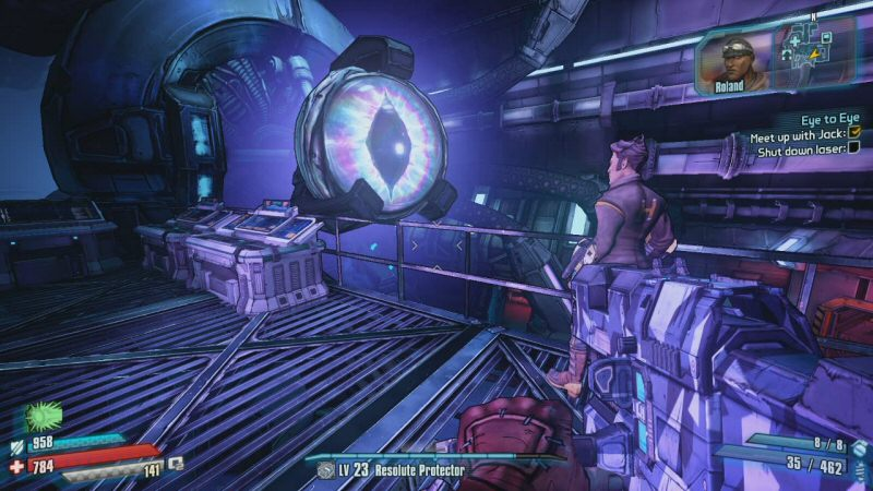 It turns out the planet-shattering doom laser is made from the carcass of the final boss in Borderlands 1. Lilith is outraged by this for some reason that she never bothers to articulate.