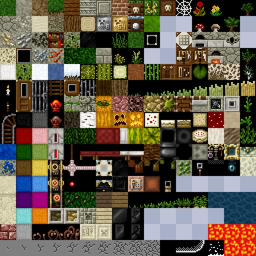 This was just the first result I found on Google. Looking closer, I think this is from an add-on texture pack. (Maybe Painterly Pack? I don't know. It's been ages.) Either way, you get the idea.