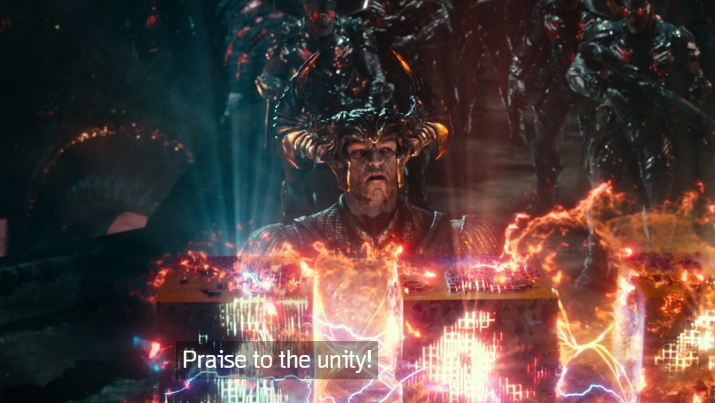 Evidently Steppenwolf is a huge fan of Unity?