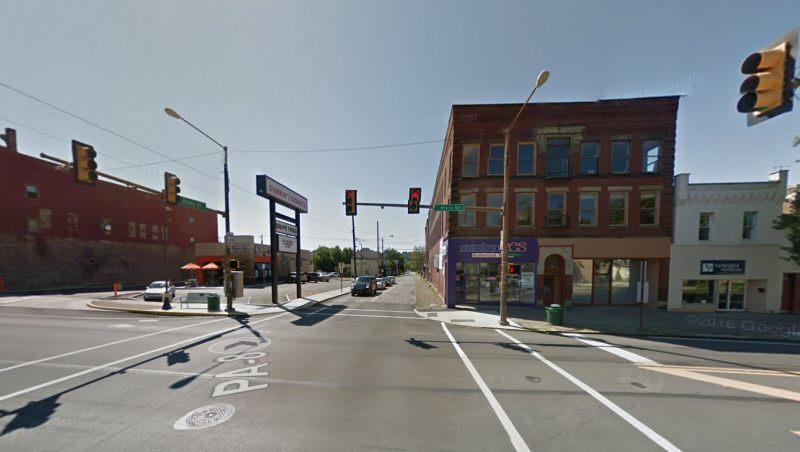 Here we're crossing Main St, which we explored last week.