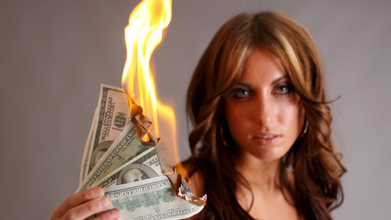 It's the old investment axiom: Don't burn money you can't afford to have set on fire. Or something like that.