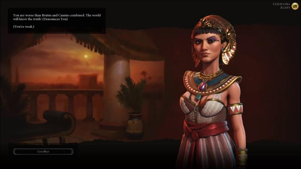 Dreamworks-styled Cleopatra is kinda weird.