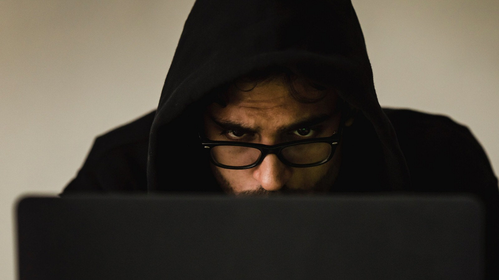 I can't stress enough how important it is to wear a black hoodie when you're hacking a computer. Without the hoodie, people won't realize how crafty and dangerous you are.