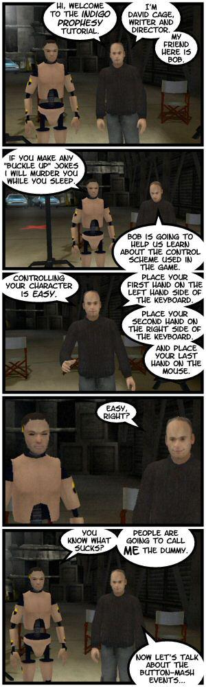 Indigo Prophesy, wack-ass controls.