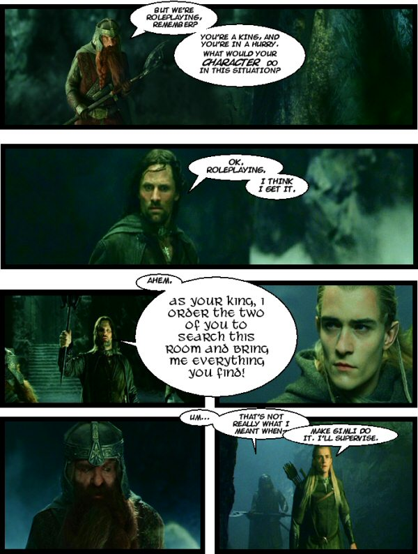 Aragorn screws it all up.