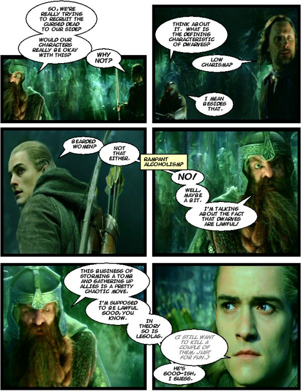Dwarven Shortcomings.