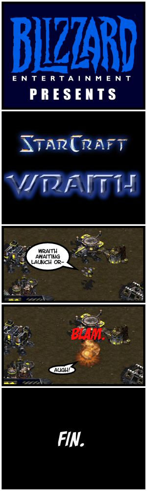 Starcraft Wraith