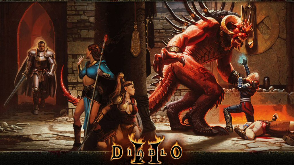 I owned multiple boxed copies of Diablo 2 and also the Battle Chest version. But I have no memory of this box art.