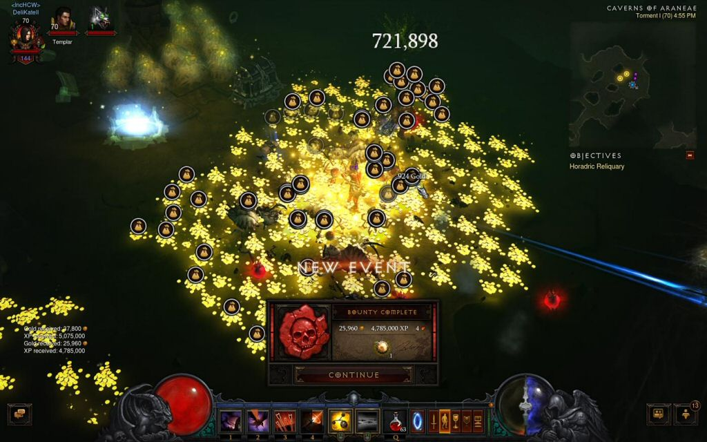 No matter how good the drops are, you lose because at the end of the day you're still playing Diablo 3.