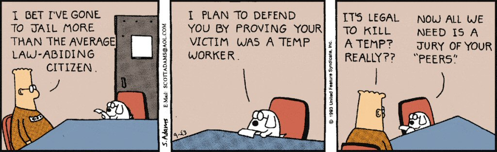 Yes, I'm citing a Dilbert from 1993. My get-rich plan involves a lot of personal laziness.