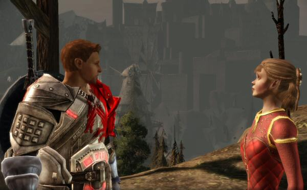 Alistair, you silly man. Of course we have a relationship.  <em>I'm letting you wear my Blood Dragon armor.</em> That's pretty much the same thing as sleeping together.