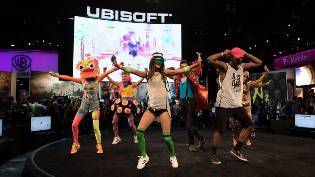 In 2016, Ubisoft hired professional dancers to show us how fun their dance game is when played by professional dancers.
