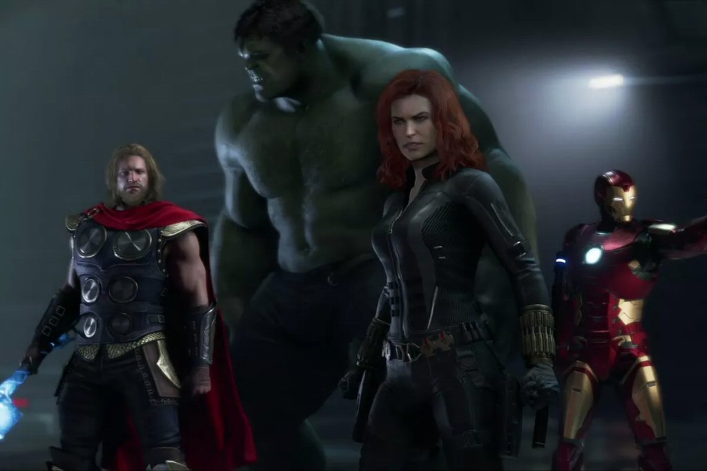 Wow. Looks like they put Grey Hulk in this one. Oh wait, that's just the shit color grading.