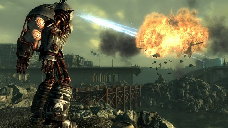 Liberty Prime was a very cool idea. Too bad the final battle had no reason to take place.