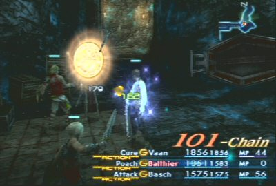 Final Fantasy 12, a 101-zombie-killing chain.