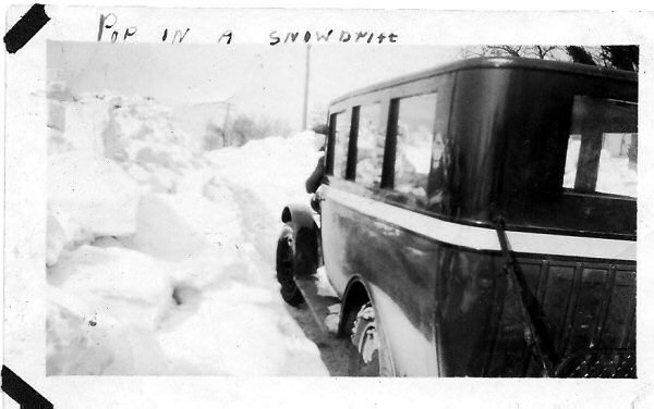 True story: Sometimes the passengers had to get out and push. Think about that the next time you complain about the inconvenience of public transit.