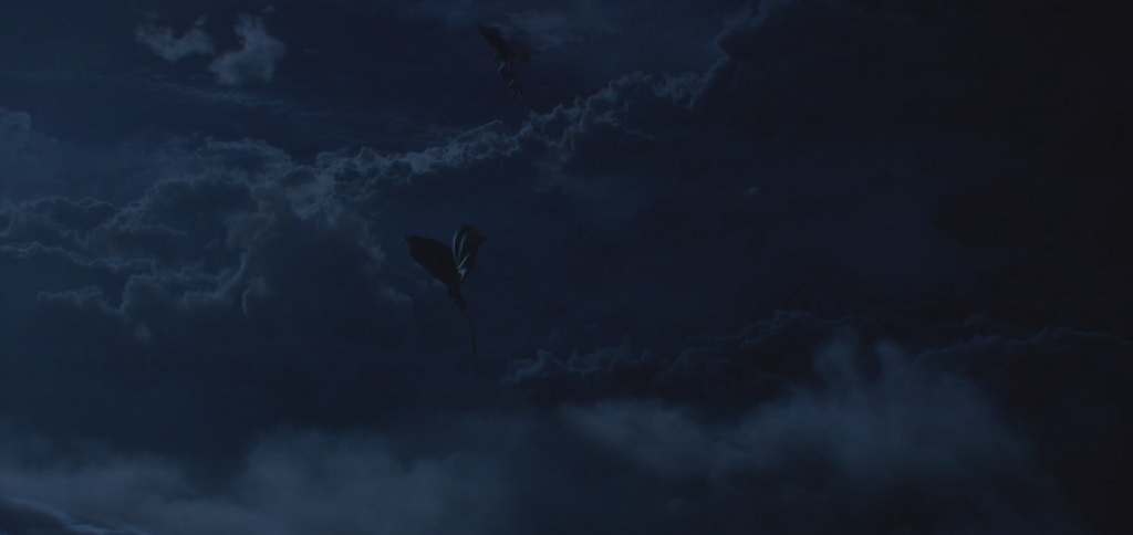 This bit where the dragons fly above the clouds is one of the coolest shots the show's ever had.