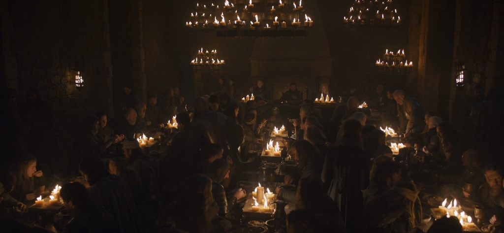 Winterfell has finally tapped its strategic candle reserve.