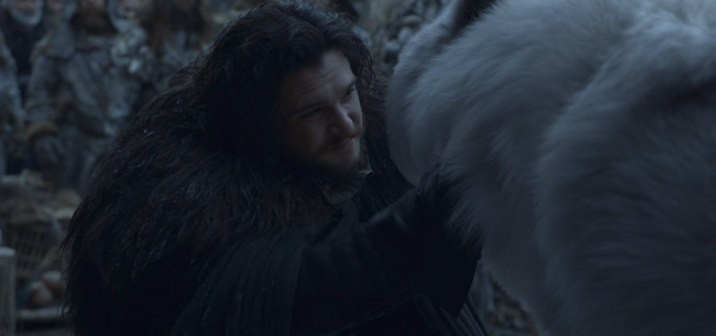 Credit to them, they DID fix the 'Jon never pet Ghost' problem. The internet is already calling it 'The Pet That Was Promised.'